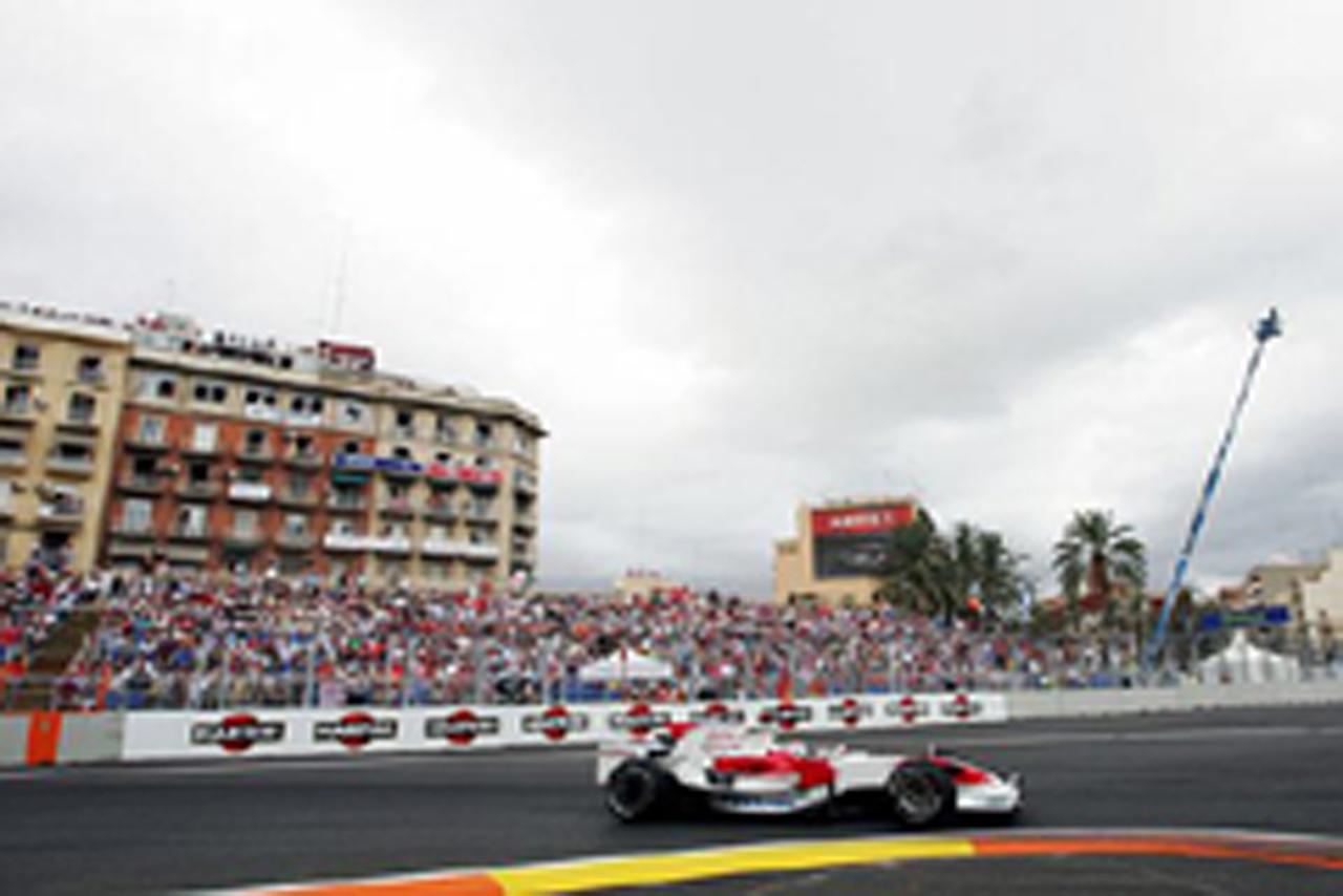 トヨタF1 (ヨーロッパGP予選)