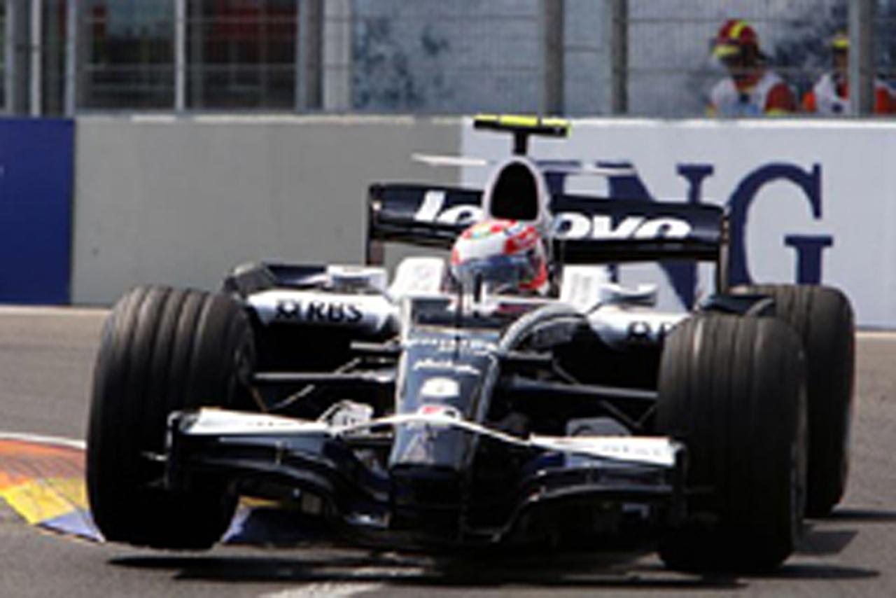 ウィリアムズ(ヨーロッパGP予選)