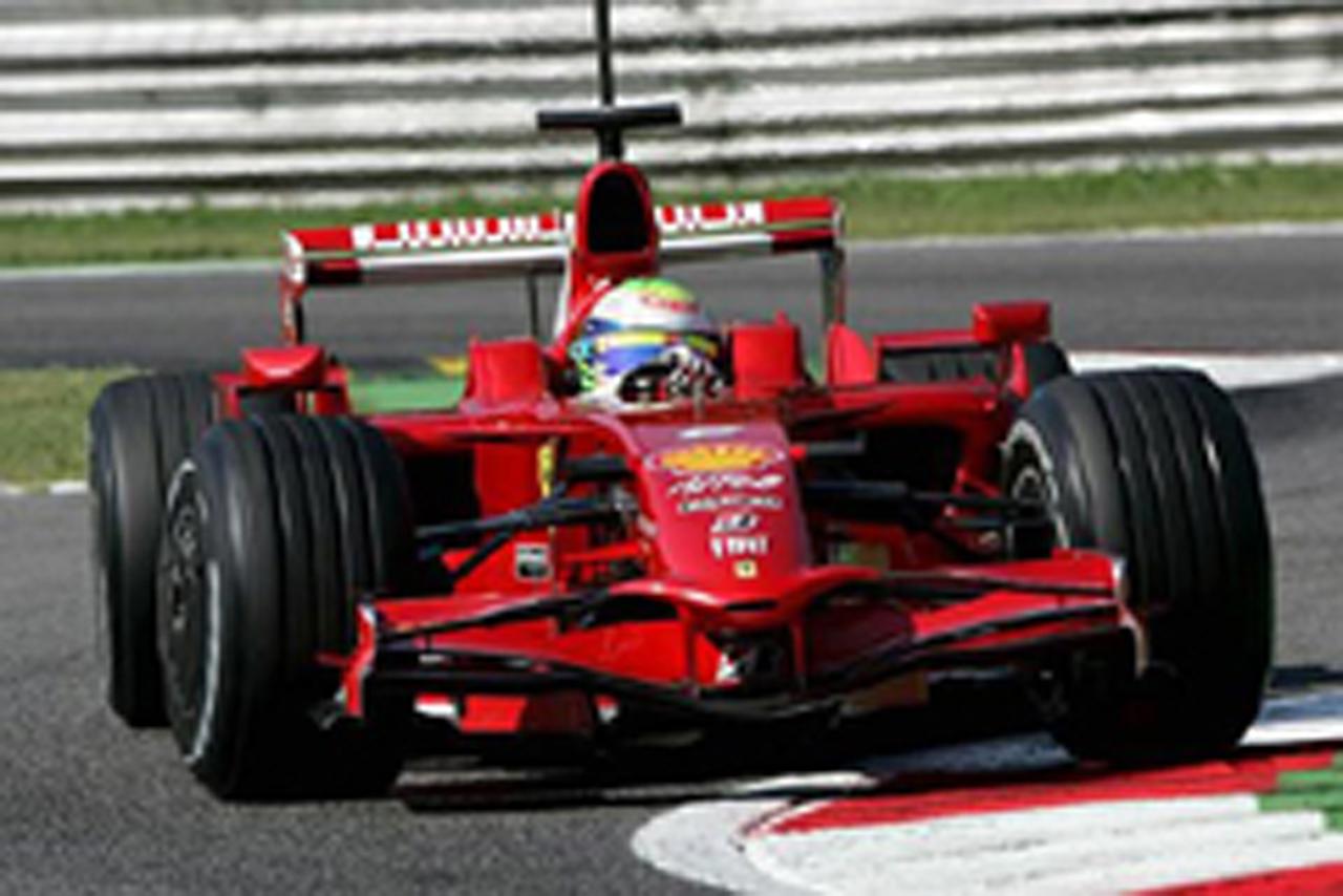 F1モンツァテスト:マッサがトップタイム