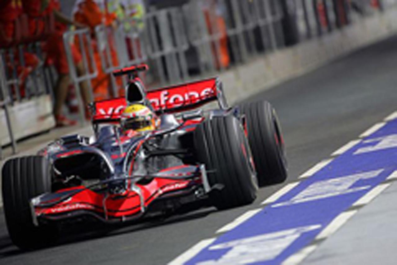 F1 シンガポールGP フリー走行1回目