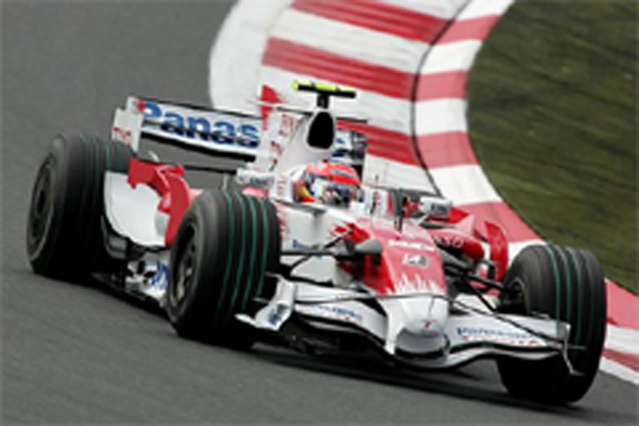 F1日本GP フリー走行2回目 ティモ・グロック