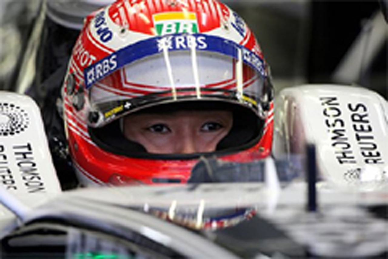 中嶋一貴 F1日本GP 予選