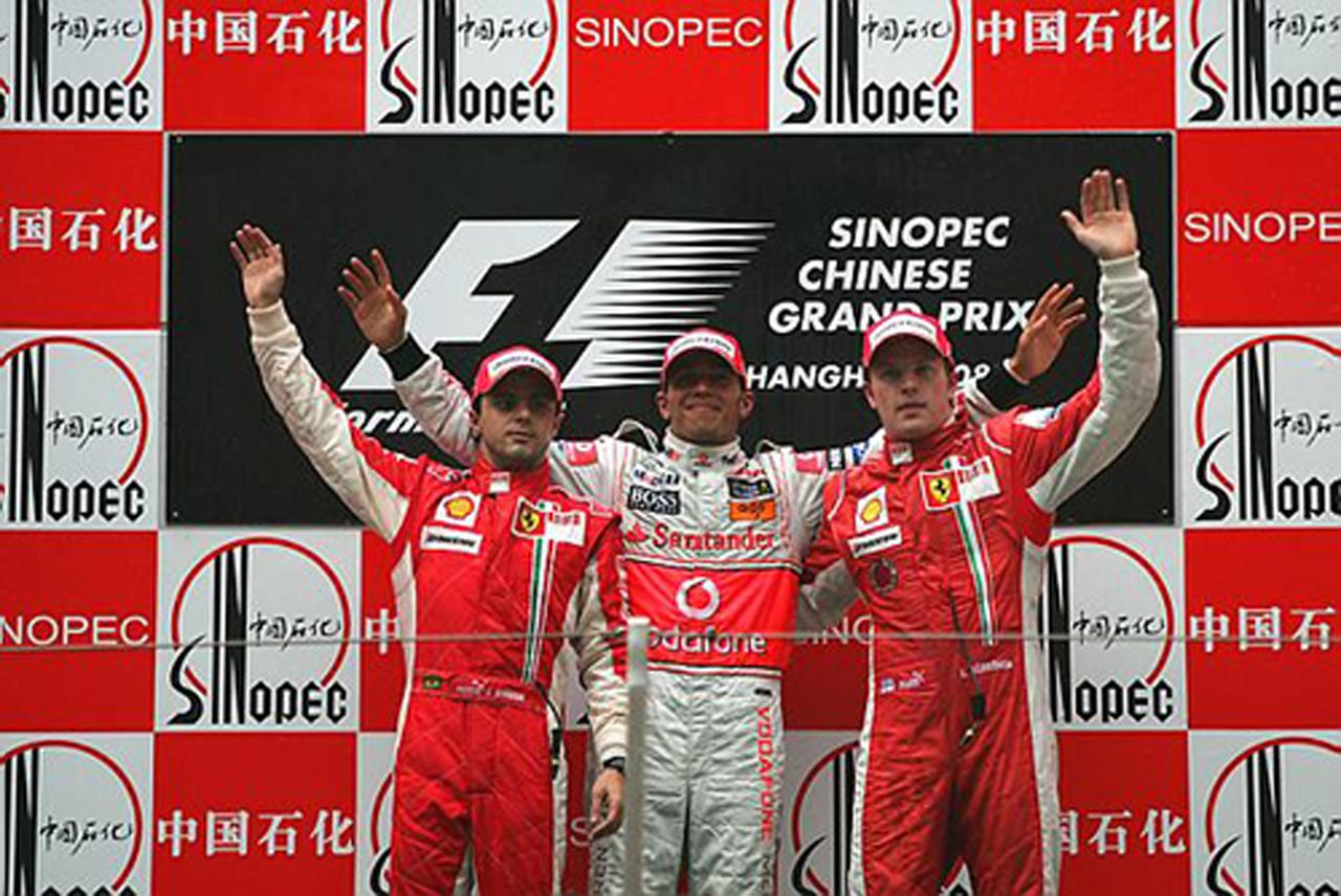 F1 中国GP 決勝 ドライバーコメント