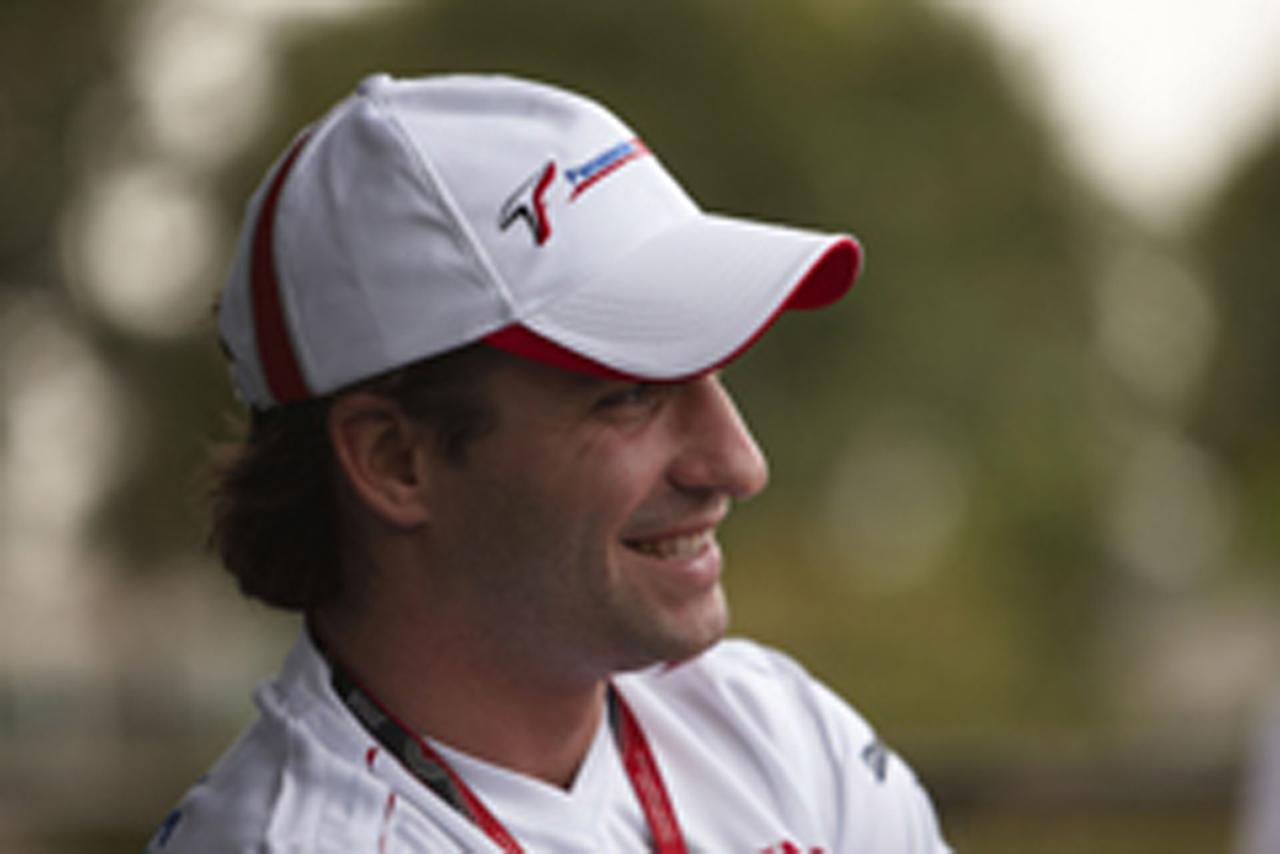ティモ・グロック トヨタF1チーム