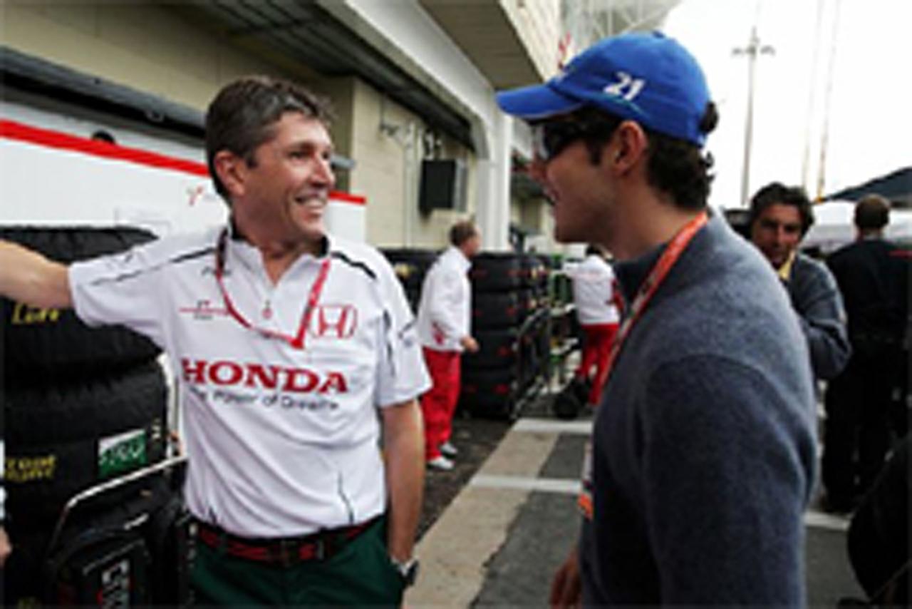 ホンダ F1 ブルーノ・セナ