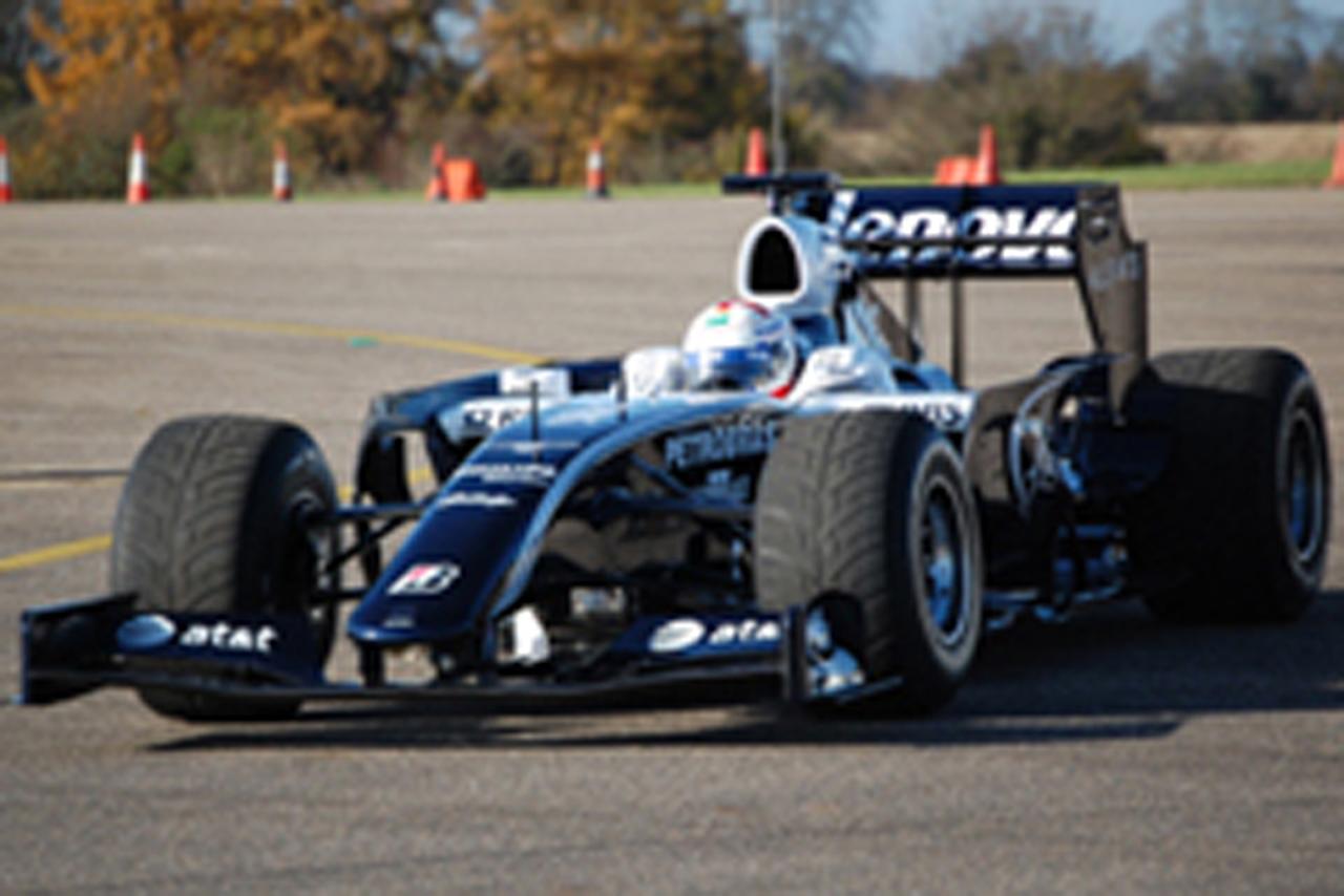 ウィリアムズ 2009年 テストカー