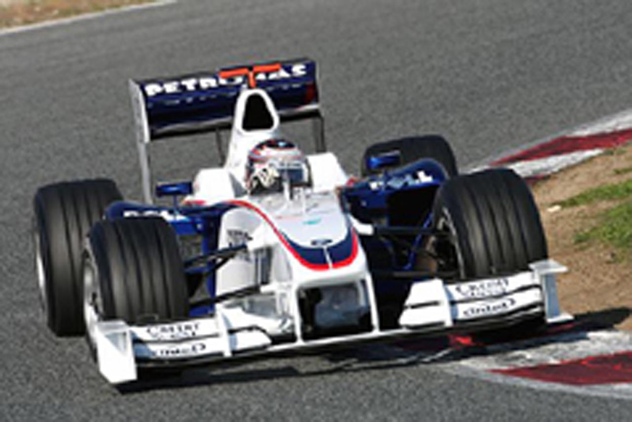 BMWザウバー F1.08B