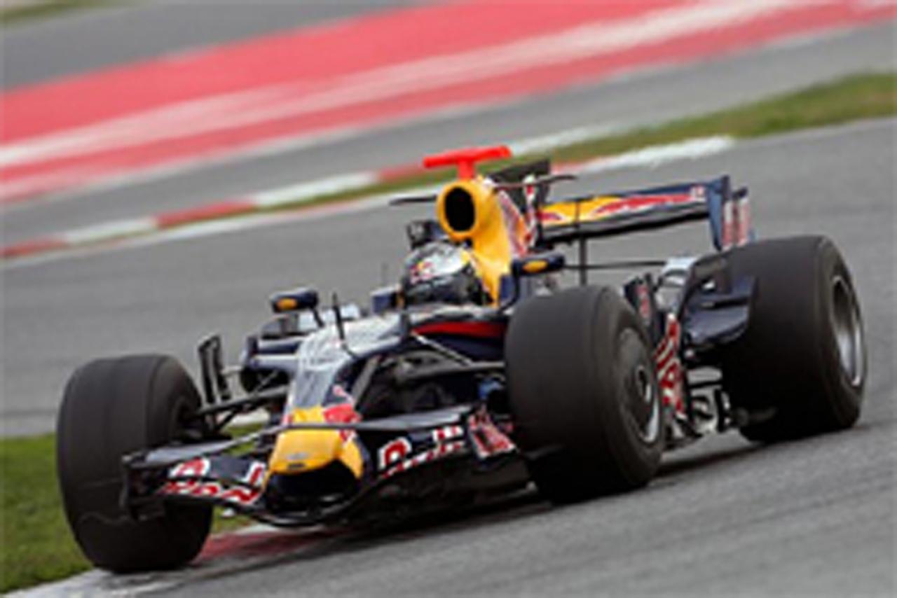 F1 バルセロナテスト 2日目 セバスチャン・ベッテル