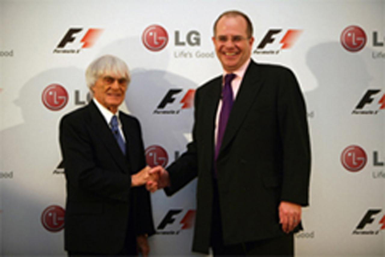 LG F1 公式パートナー
