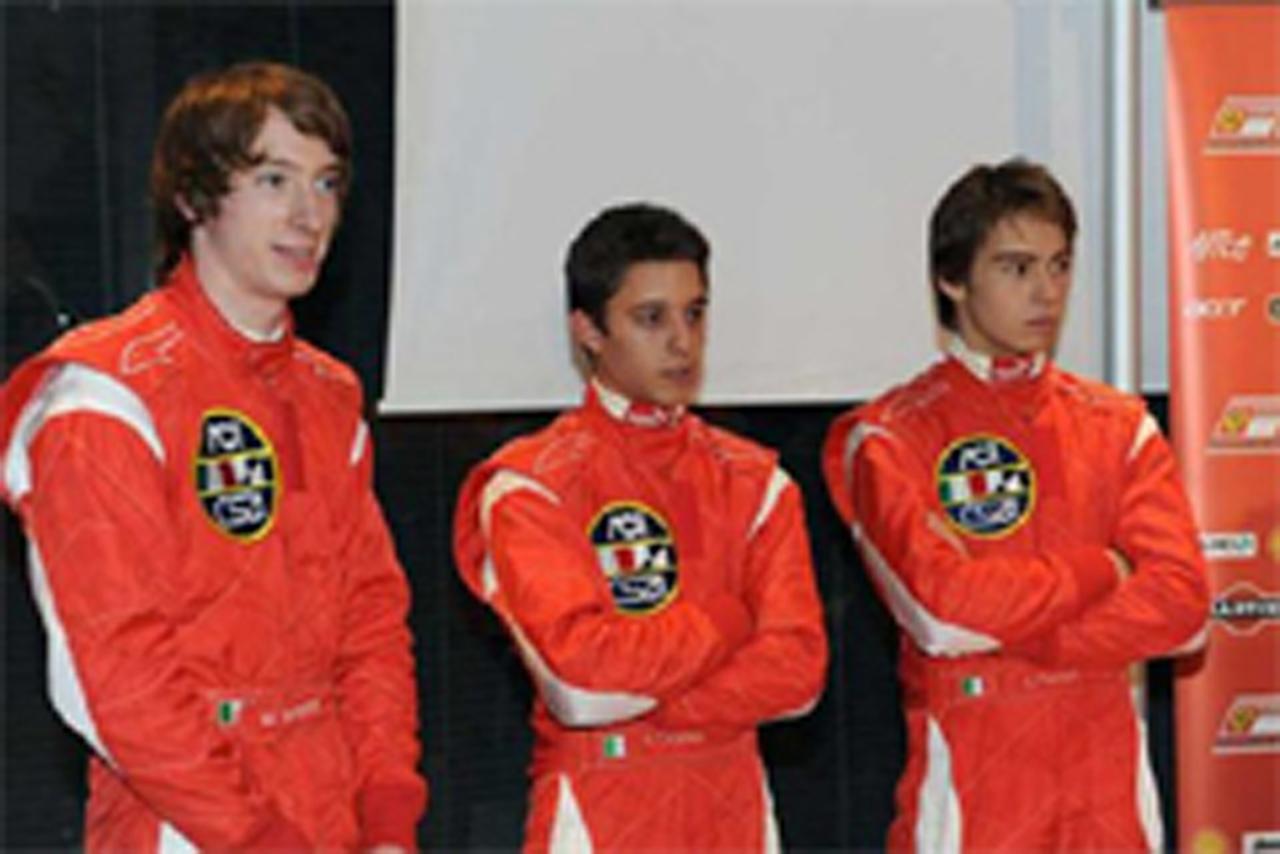 左からミルコ・ボルトロッティ、エドアルド・ピスコポ、サルヴァトーレ・チカテッリ