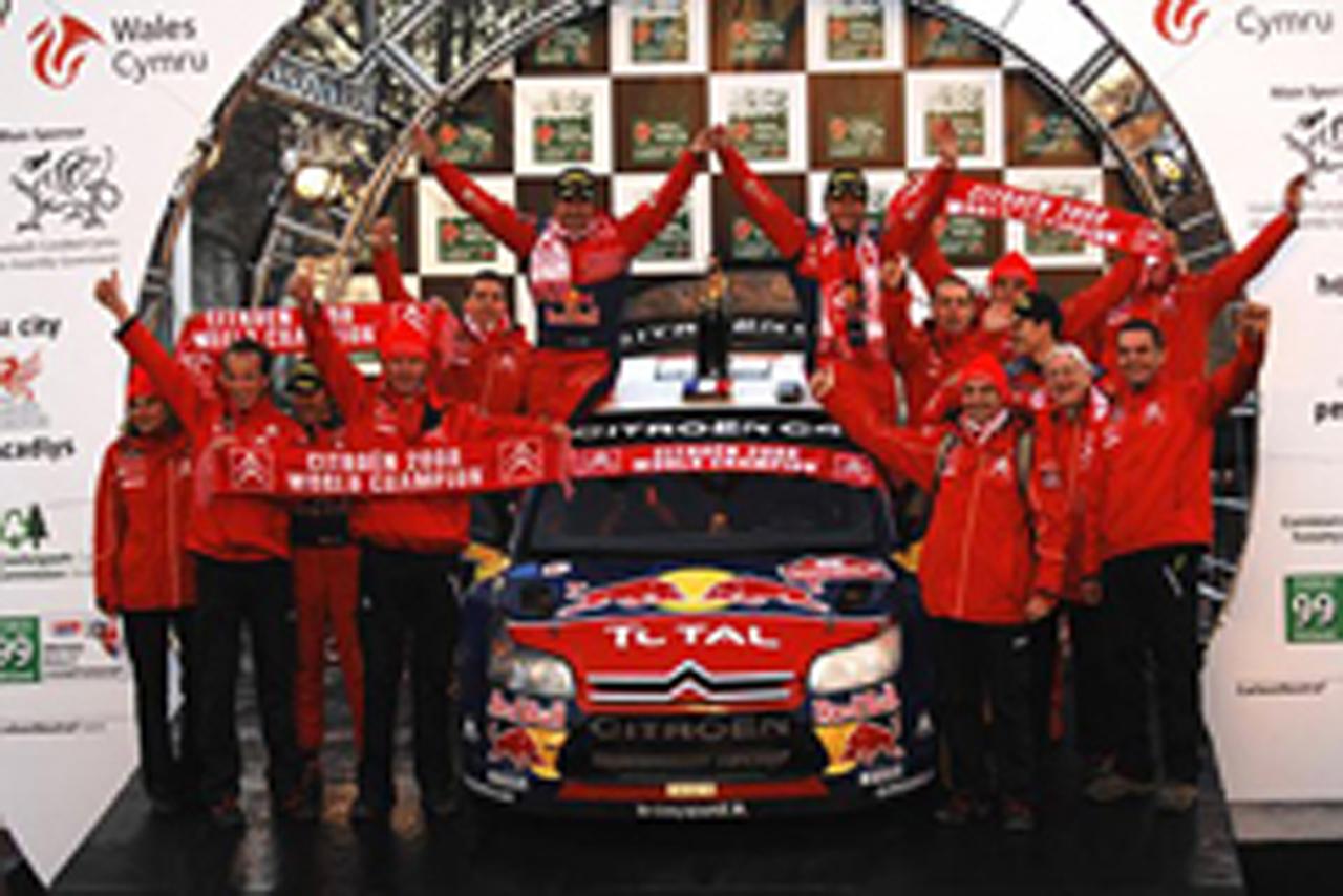 シトロエン WRCチーム