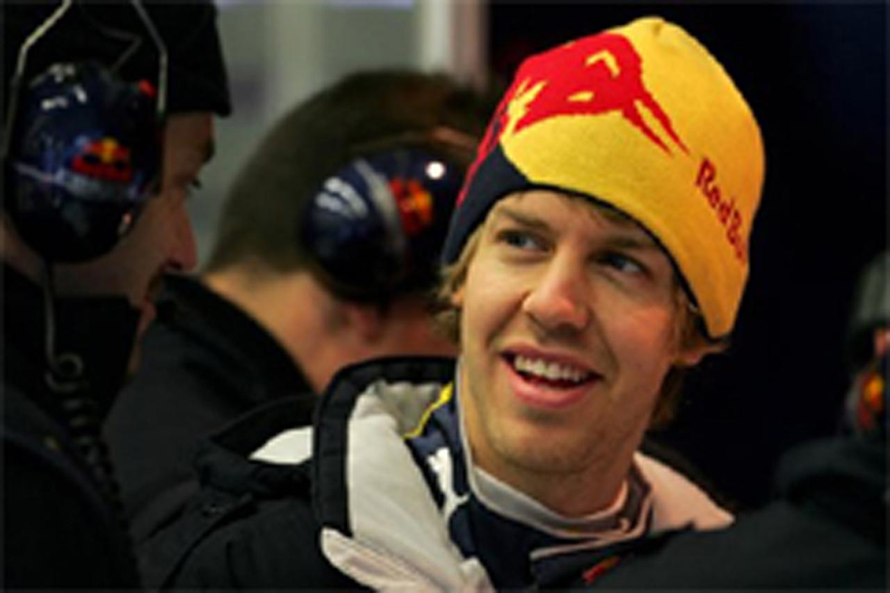F1 ヘレステスト 最終日 セバスチャン・ベッテル
