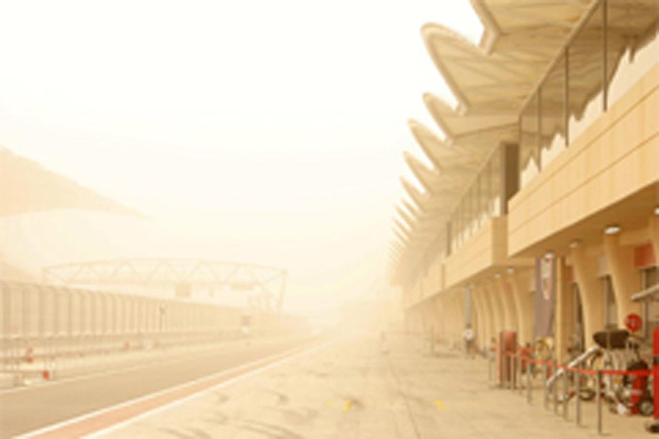 F1バーレーンテストは再び中止