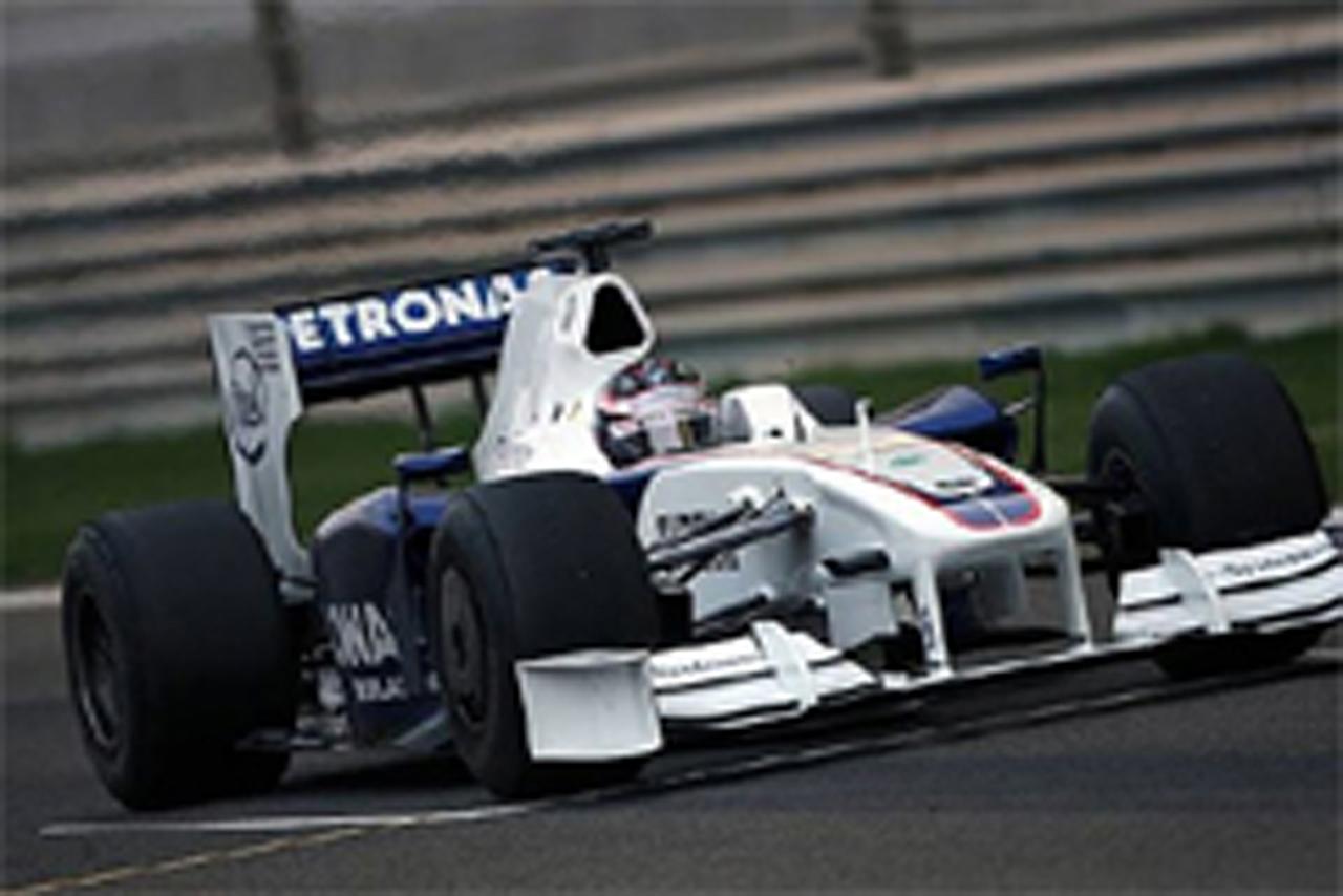 F1バーレーン合同テスト初日