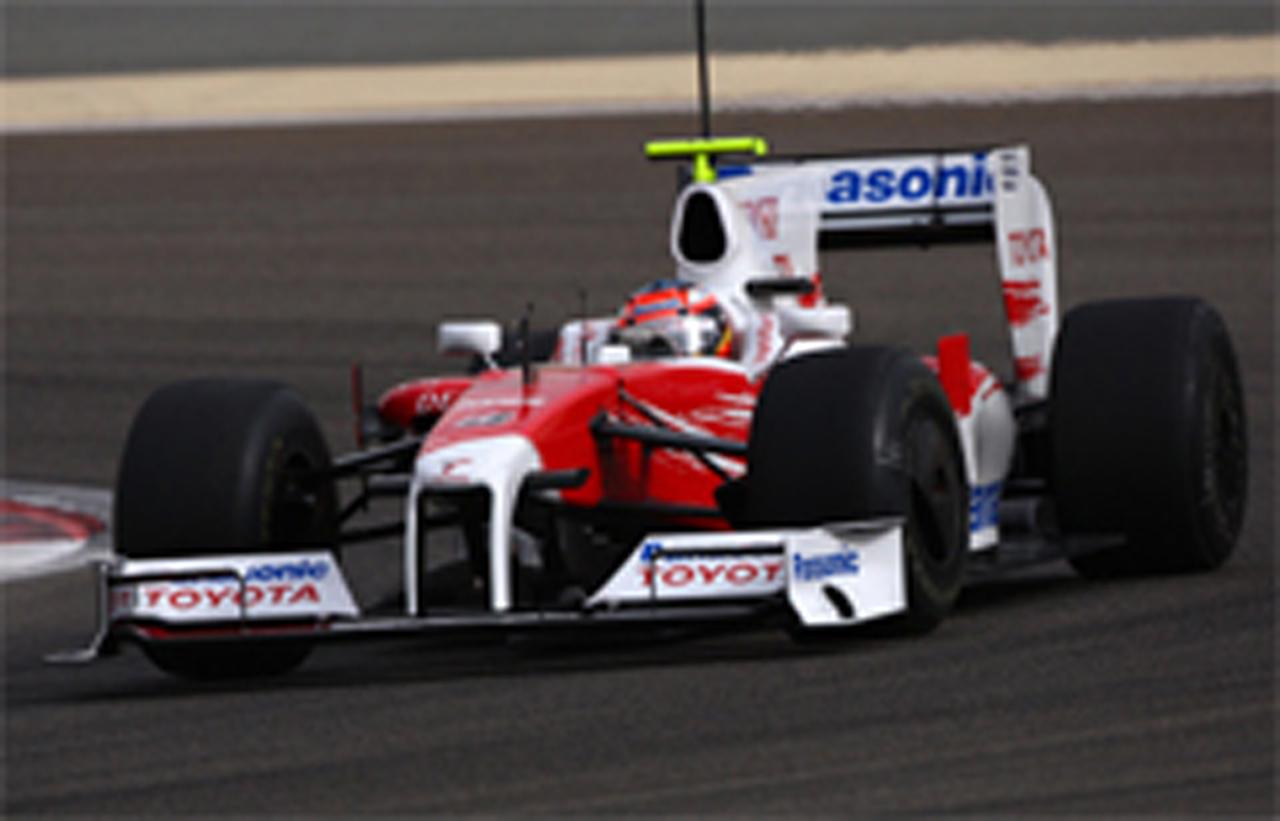 F1バーレーン合同テスト3日目