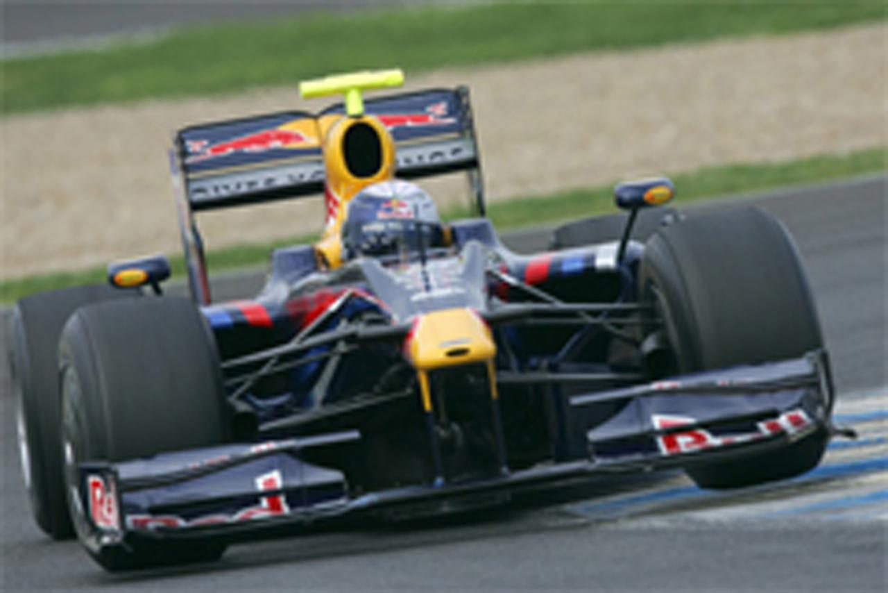 F1 ヘレス合同テスト 初日