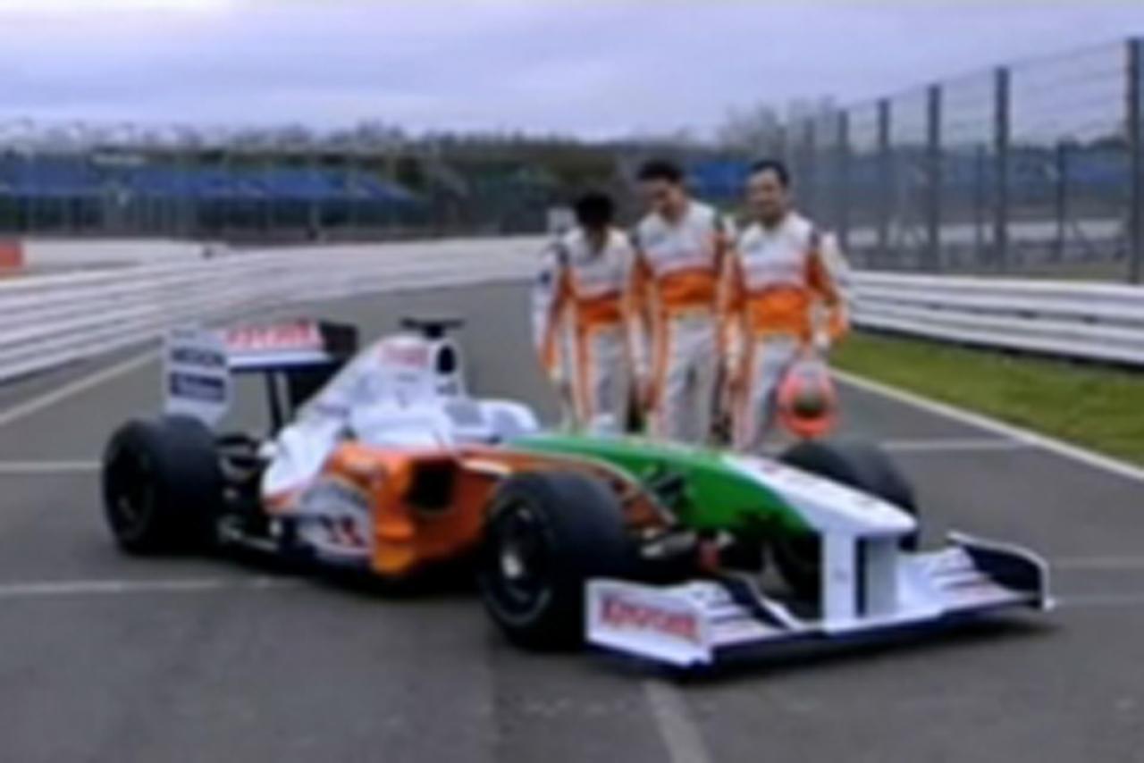 VJM02とフォースインディアのドライバー
