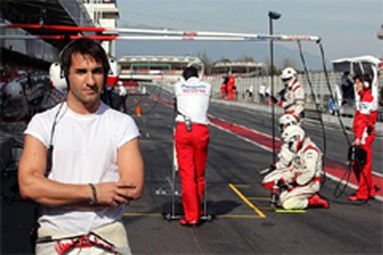 ティモ・グロック (トヨタF1チーム)