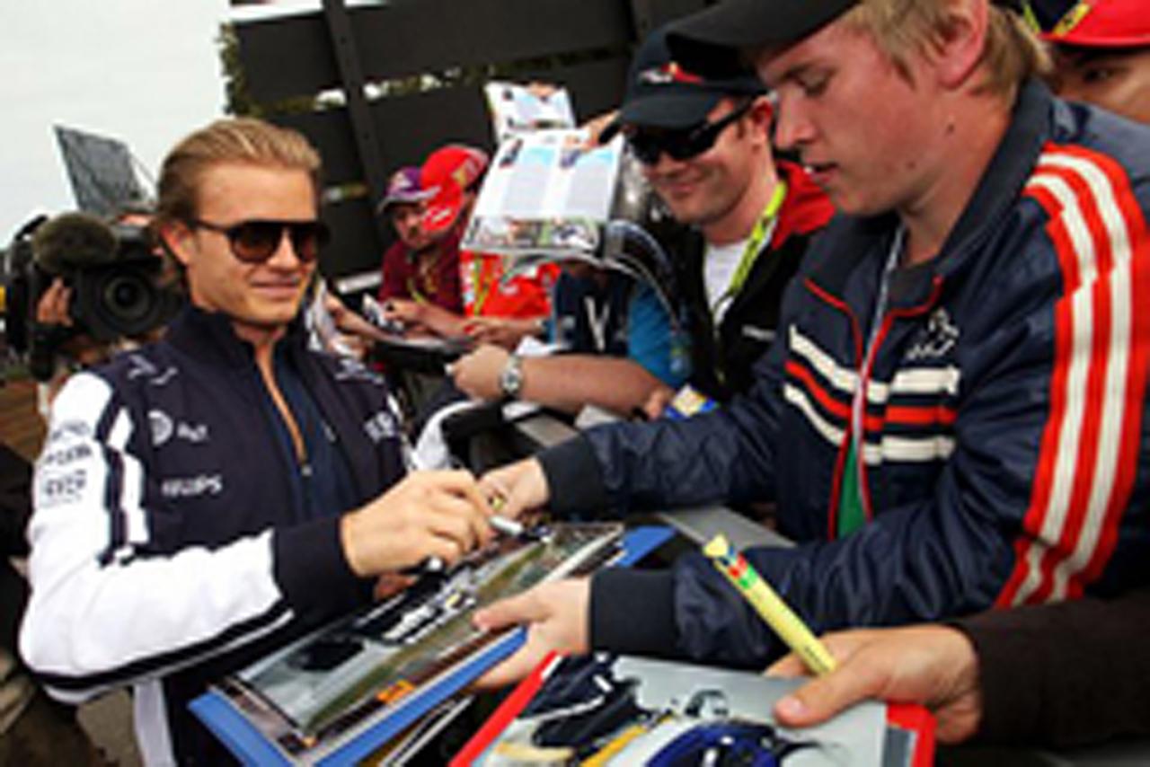 2009年F1 最初のトップタイムはニコ・ロズベルグ