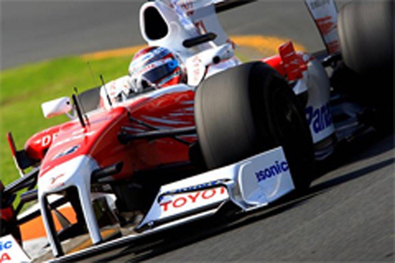 トヨタ F1 オーストラリアGP
