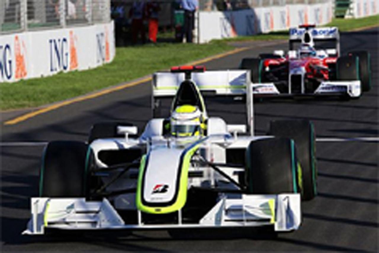F1 オーストラリアGP 燃料搭載量