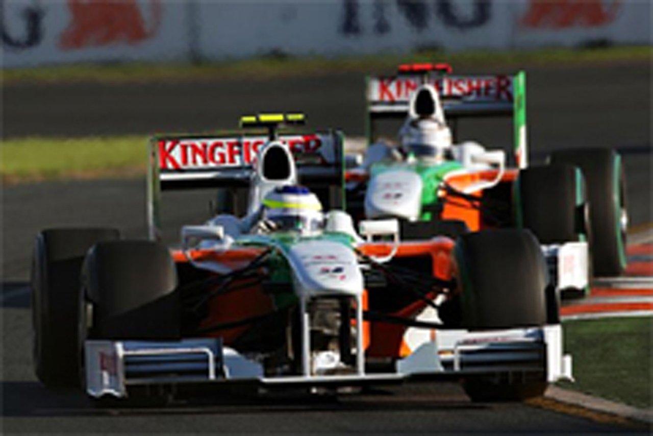 フォース・インディア F1 オーストラリアGP
