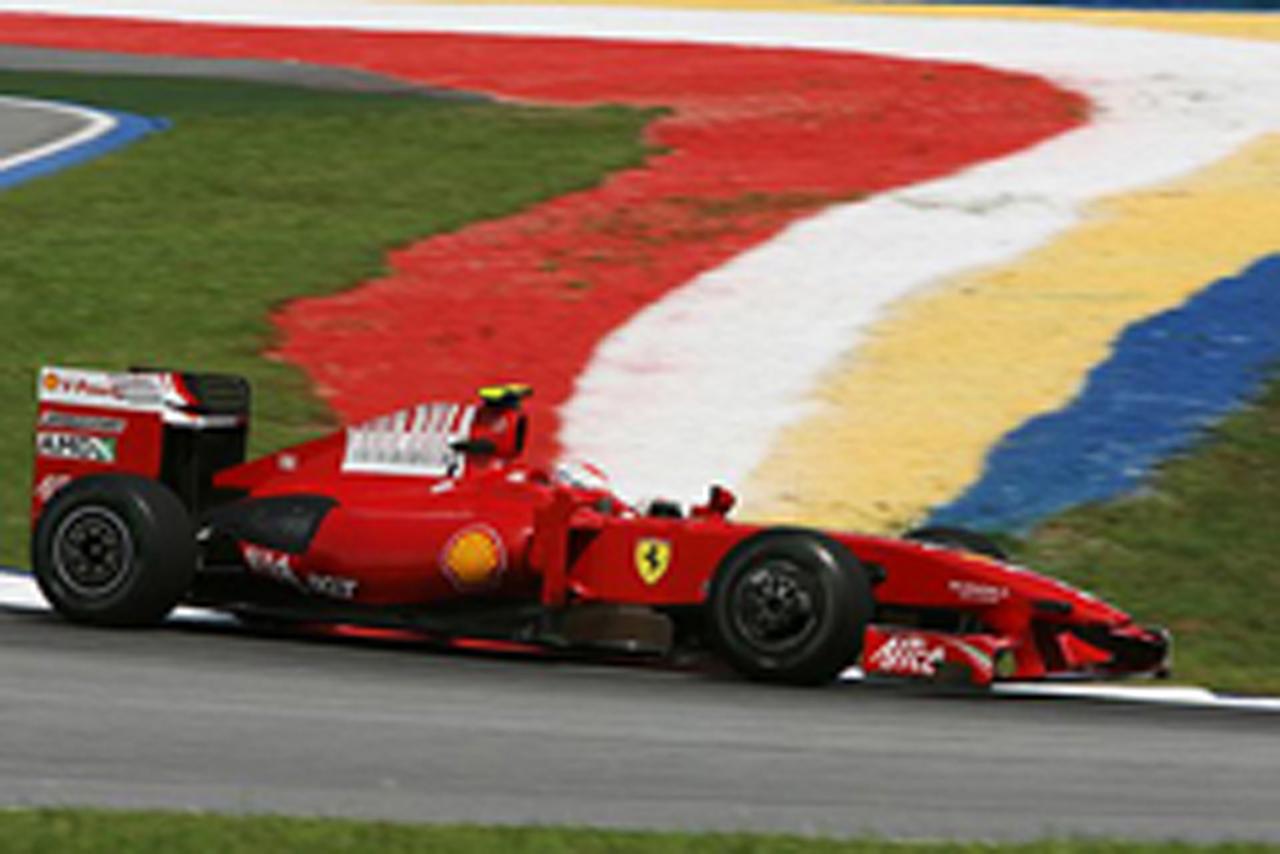 F1 マレーシアGP フリー走行2回目