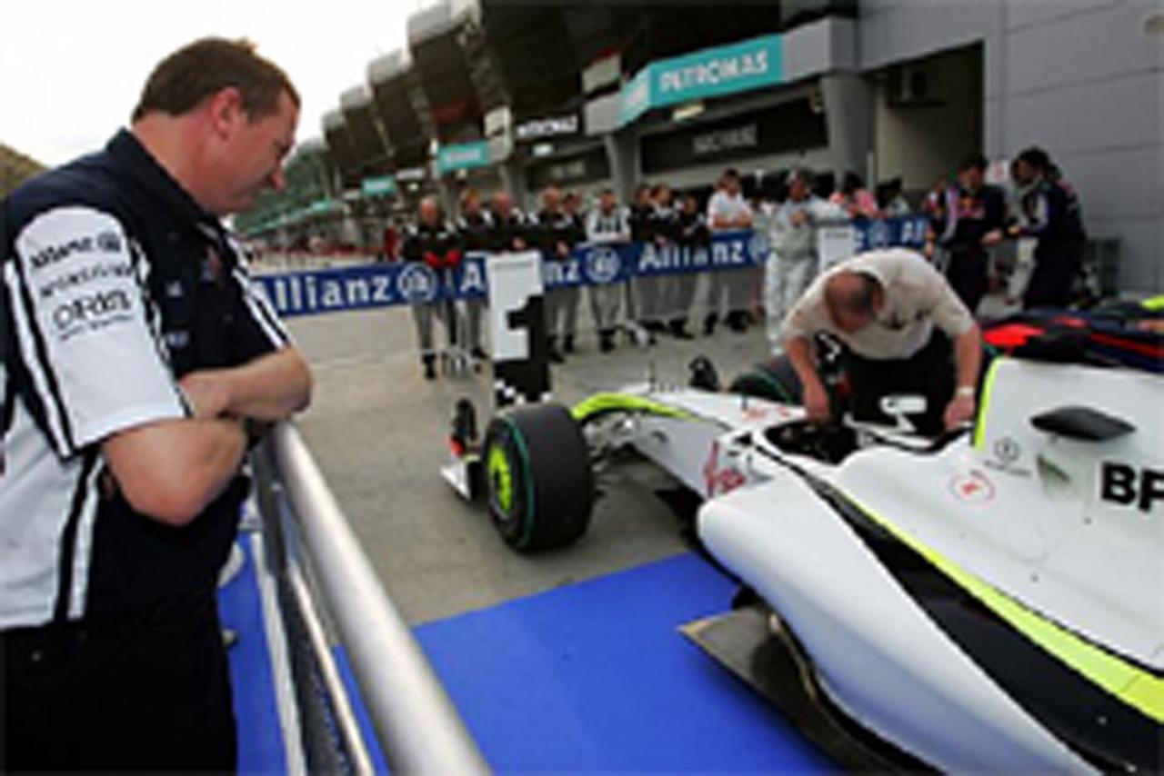 F1 マレーシアGP マシン重量