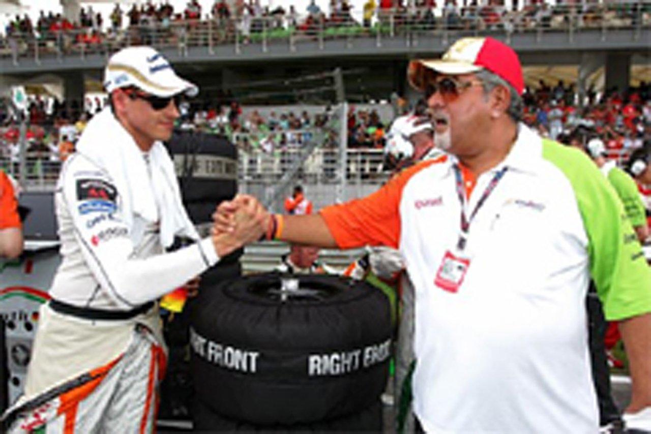 エイドリアン・スーティル フォース・インディア F1