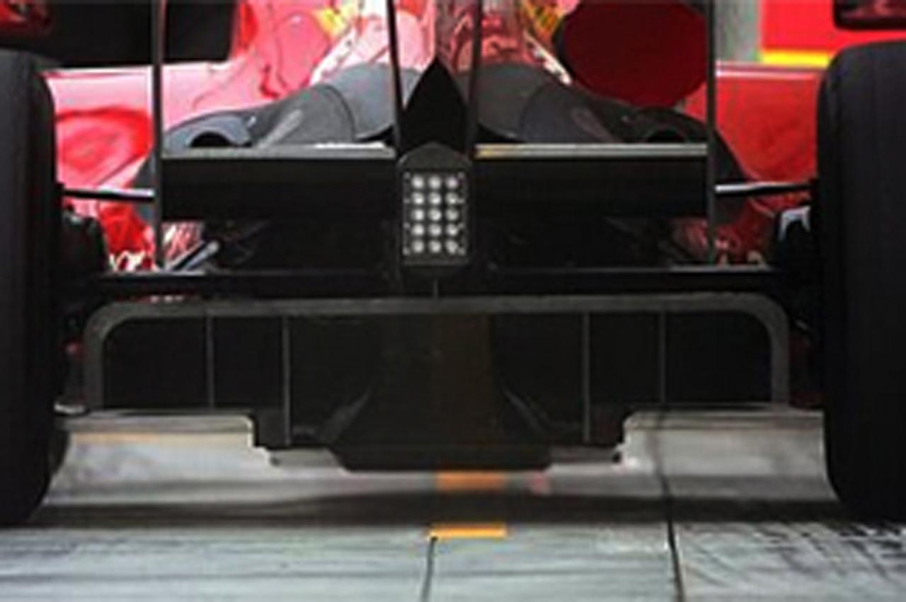 フェラーリ F60 ディフューザー