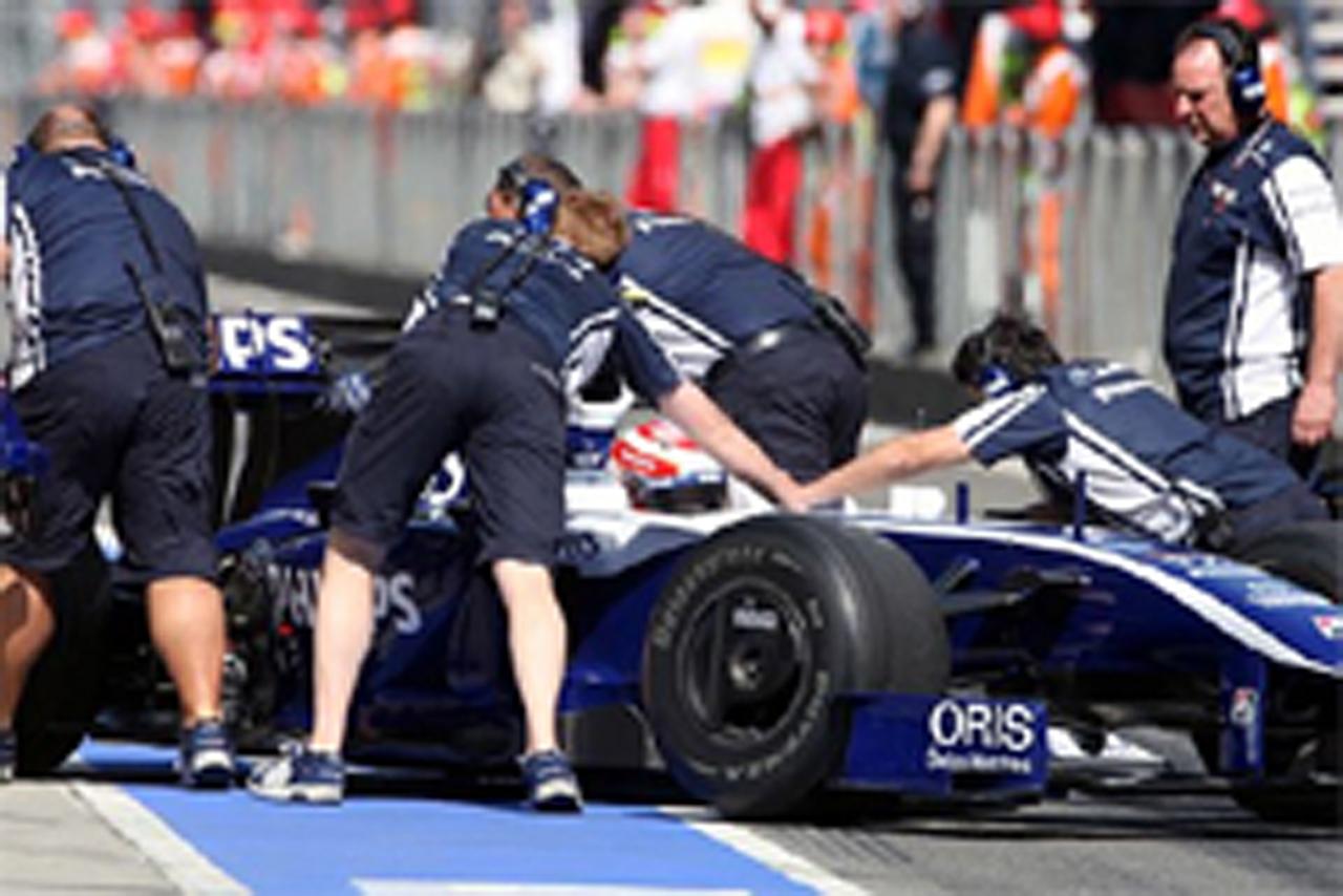 中嶋一貴 ウィリアムズ F1 中国GP