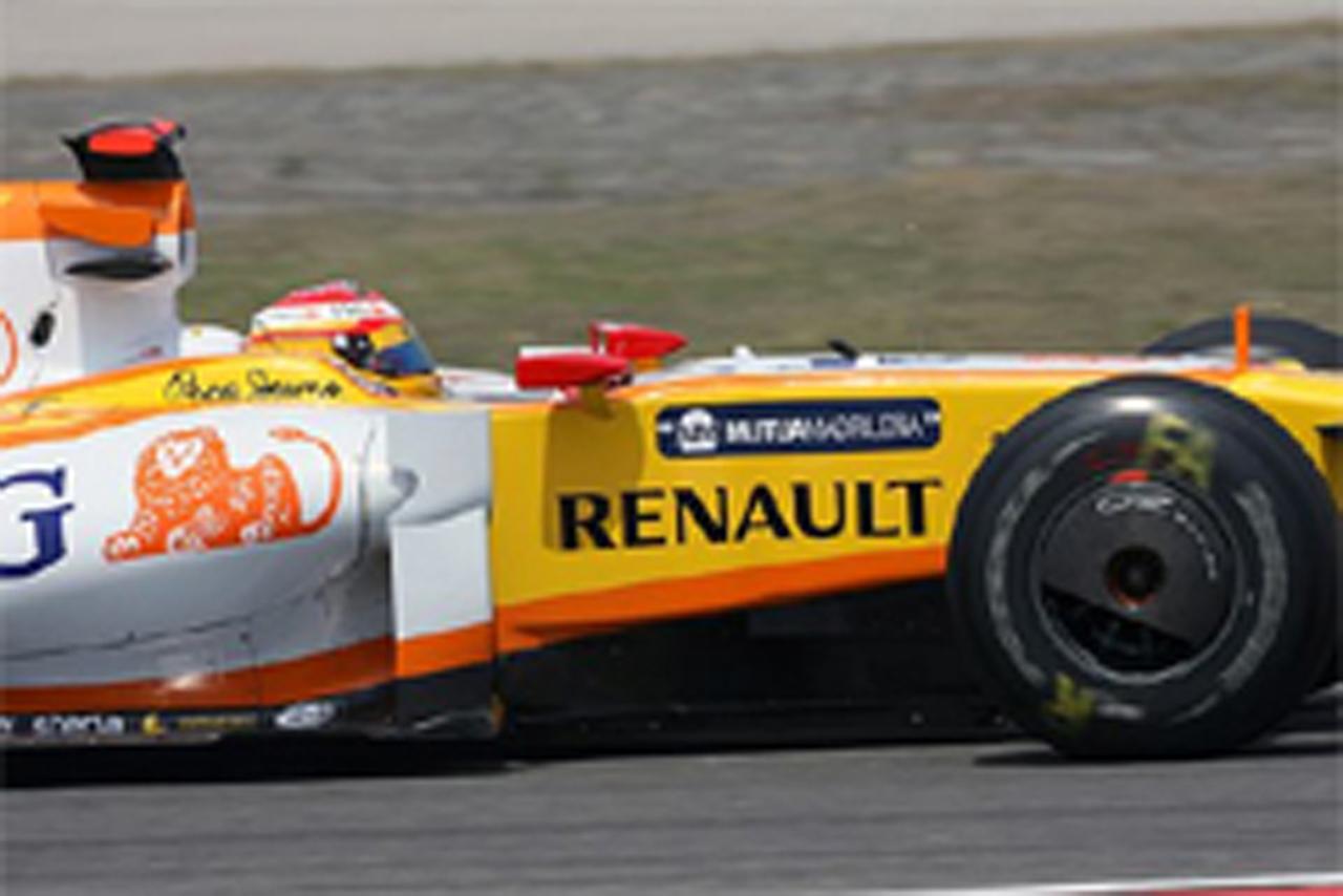 F1中国GPのKERS搭載車はわずか3台