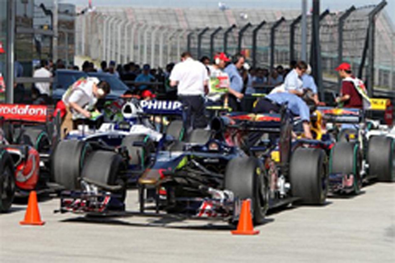F1 中国GP 燃料搭載量