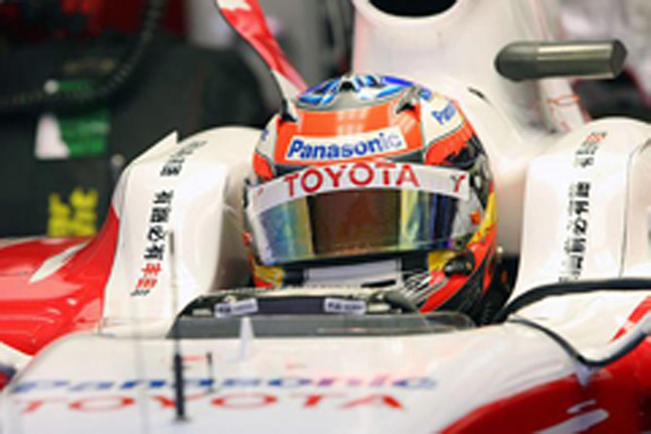 ティモ・グロック トヨタ F1
