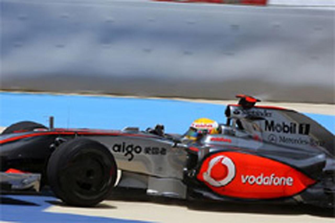 F1 バーレーンGP フリー走行1回目