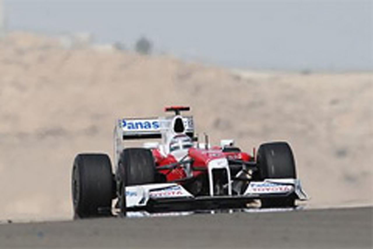 トヨタ F1 バーレーンGP