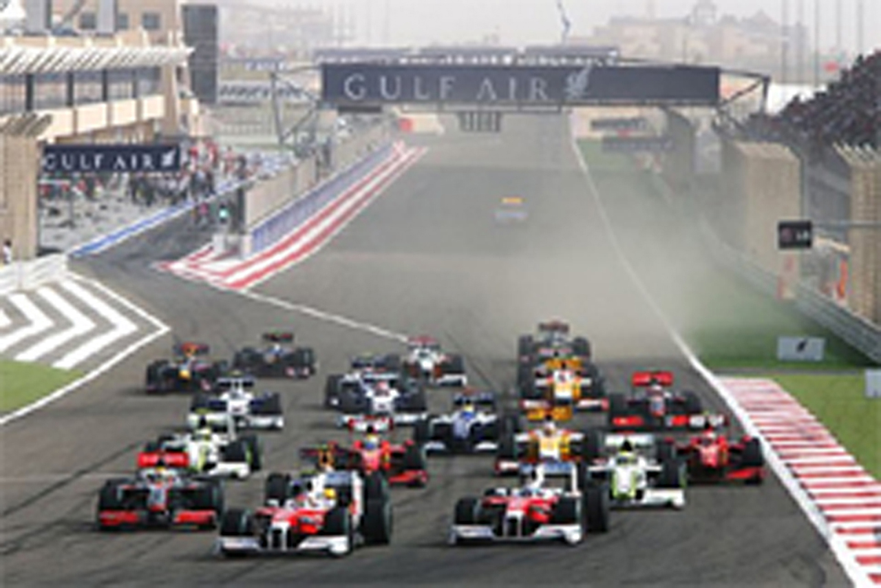 F1 バーレーンGP 決勝結果