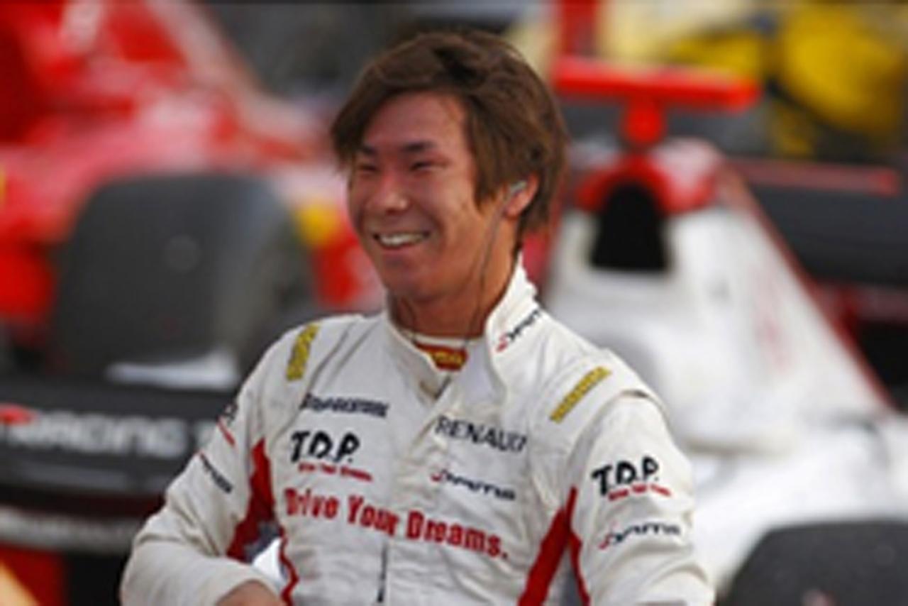 小林可夢偉 GP2アジア チャンピオン
