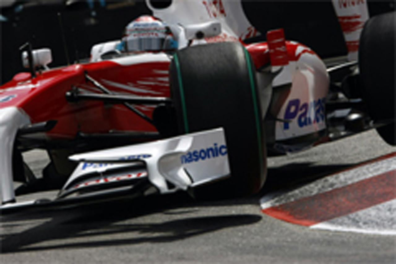 トヨタ F1 モナコGP