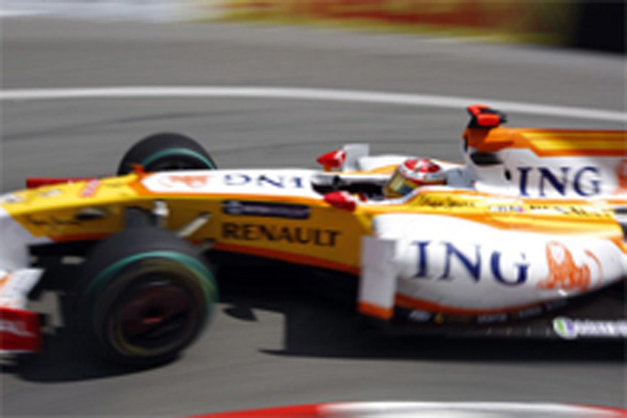 F1 モナコGP フリー走行3回目