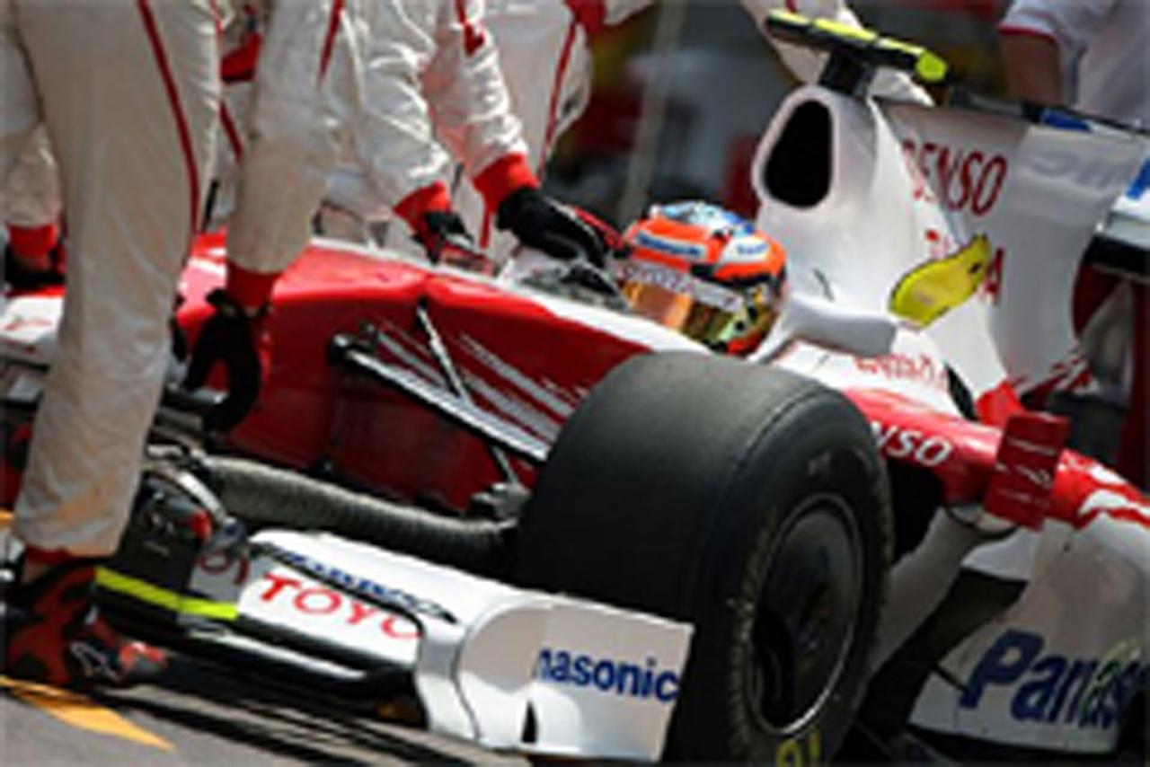 トヨタ F1 モナコGP 予選