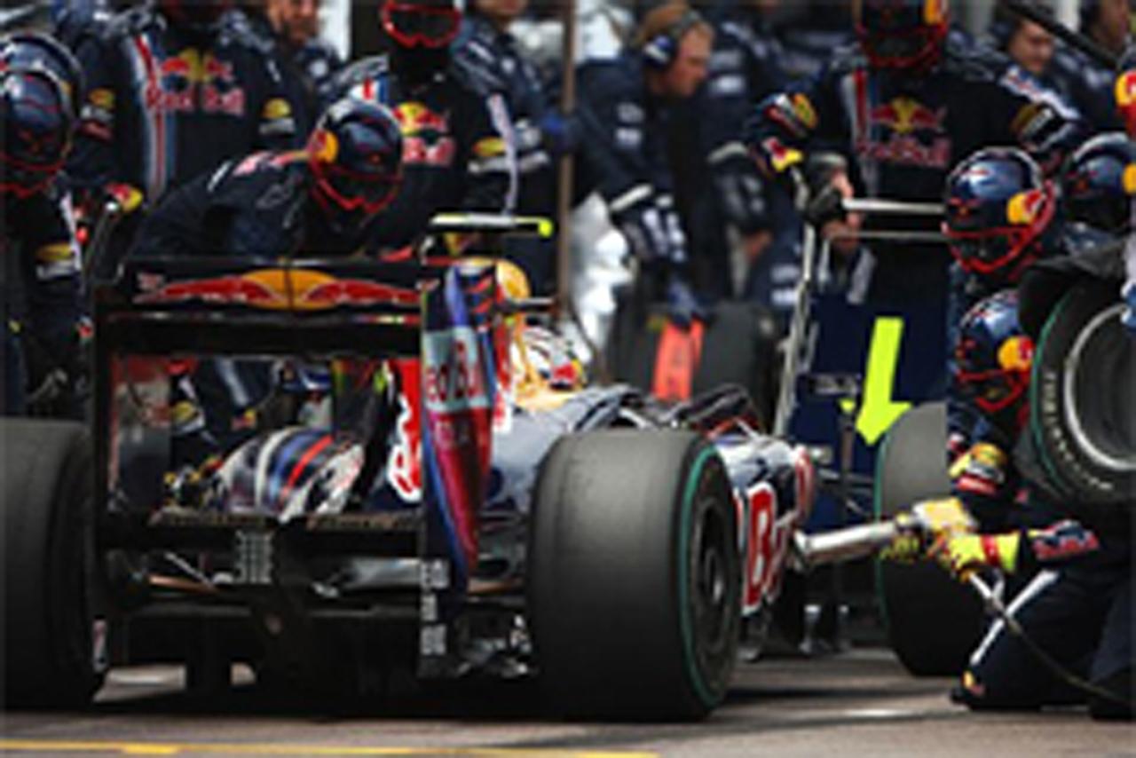 F1 モナコGP 燃料搭載量