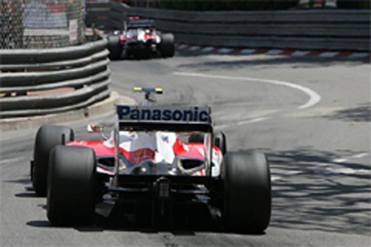 トヨタ F1 モナコGP 結果