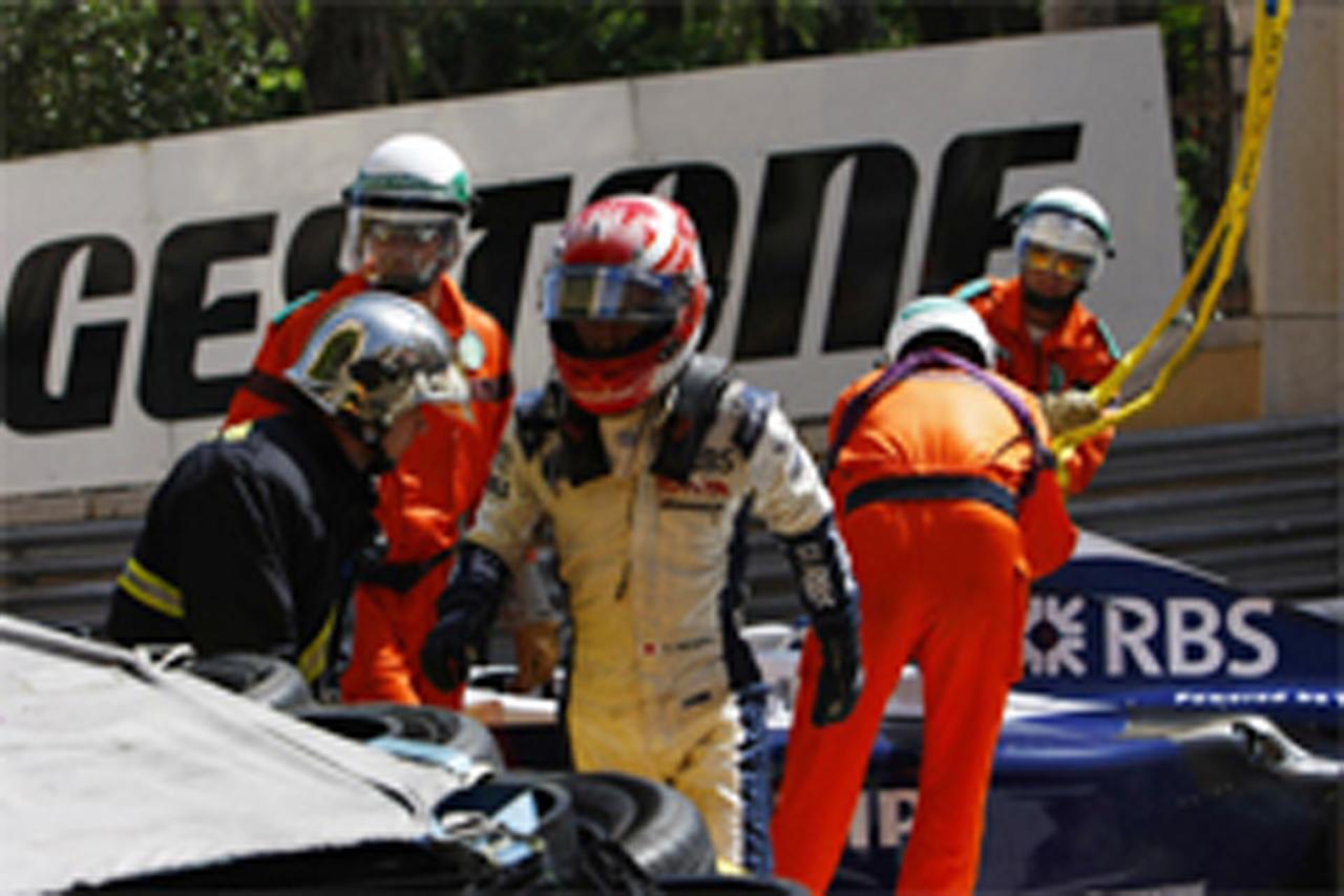 中嶋一貴 ウィリアムズ F1 モナコGP 結果