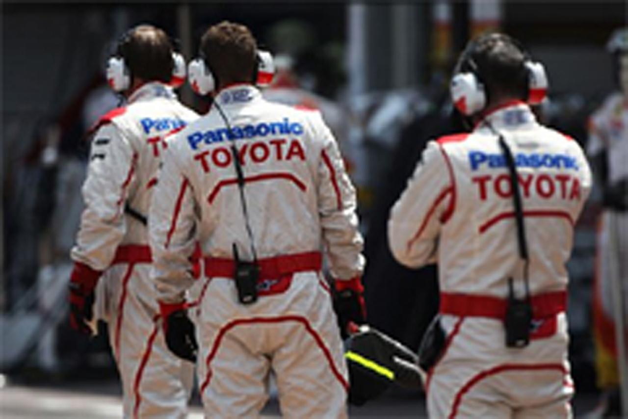 トヨタ F1撤退