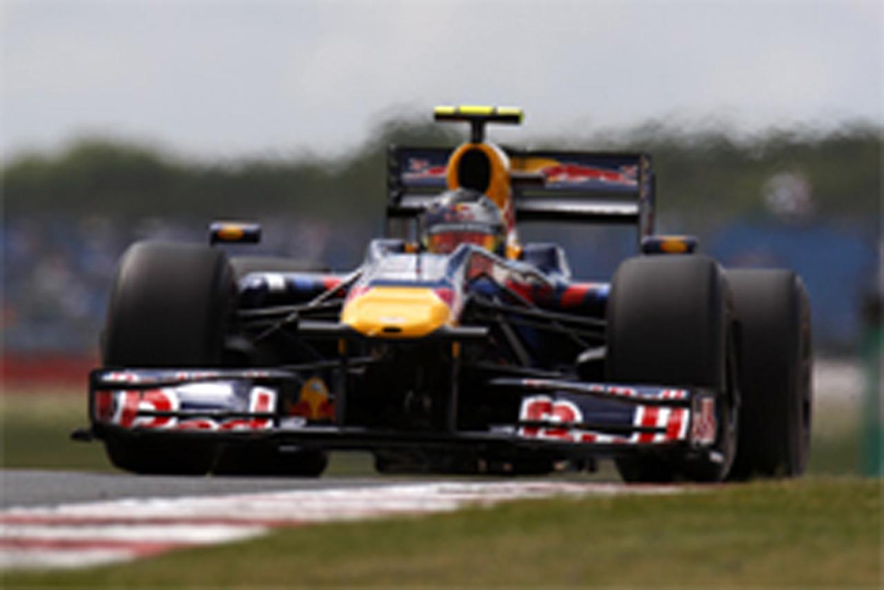 F1イギリスGP フリー走行1回目