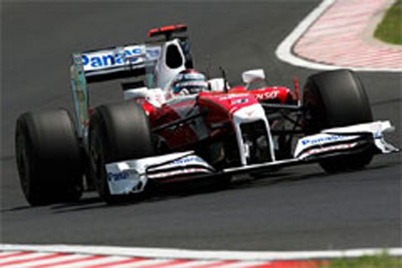 トヨタ F1 ハンガリーGP 予選