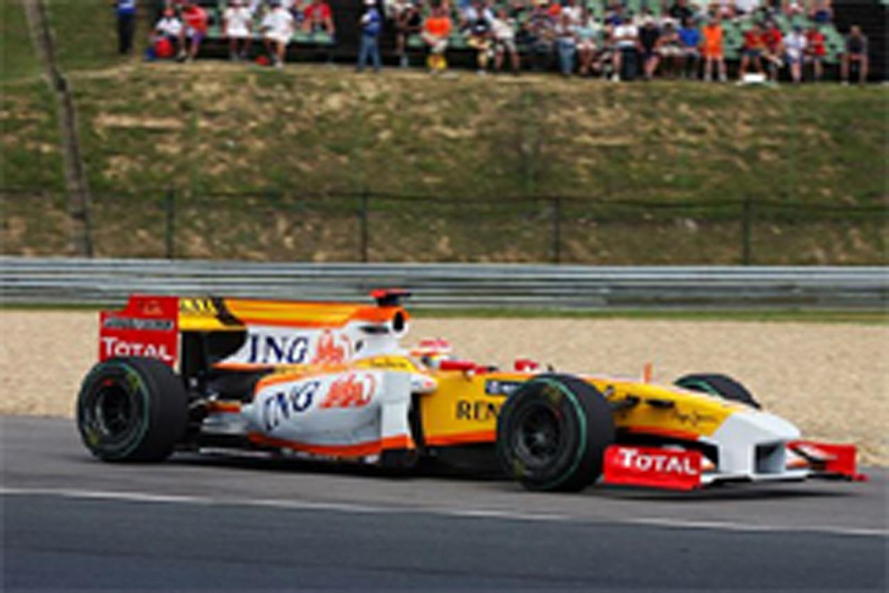ルノー F1ヨーロッパGPに出走