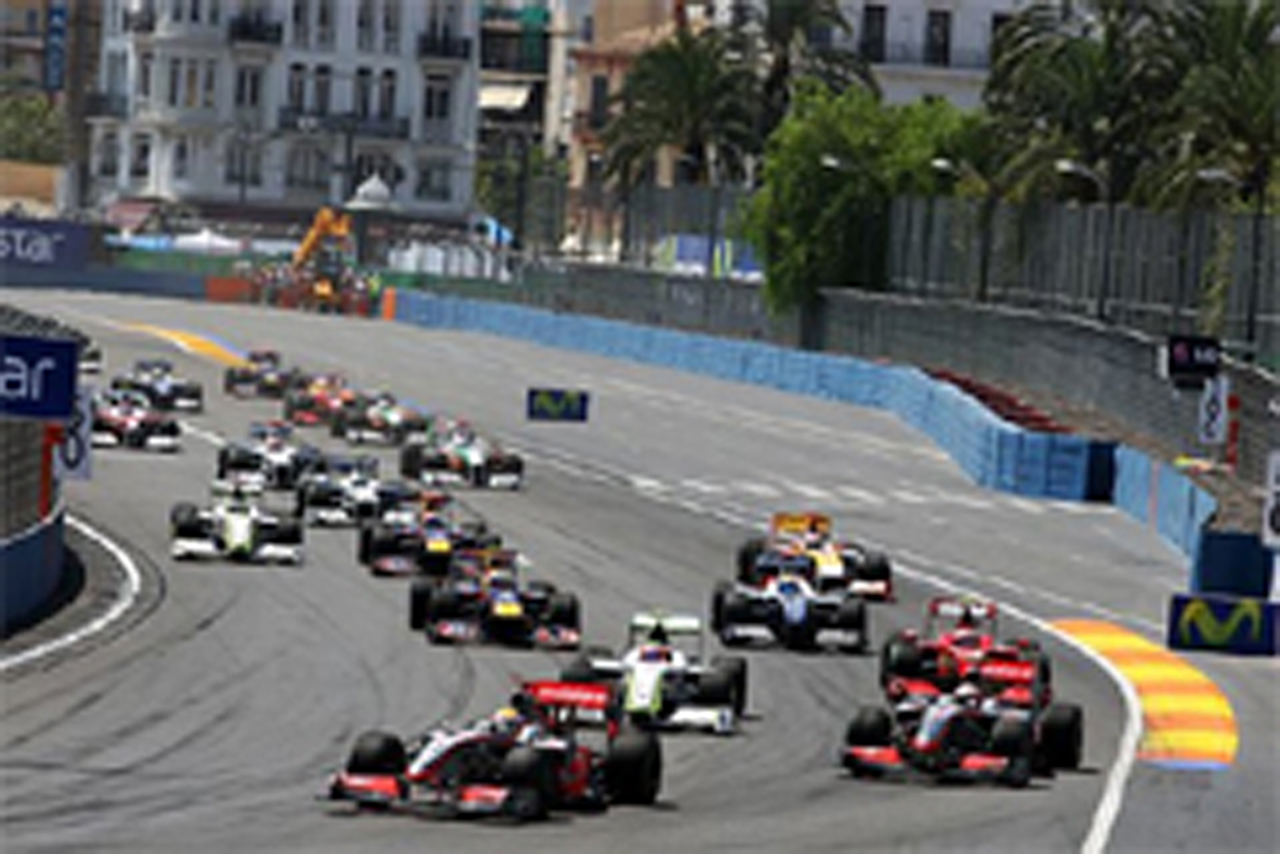 F1 ヨーロッパGP 結果