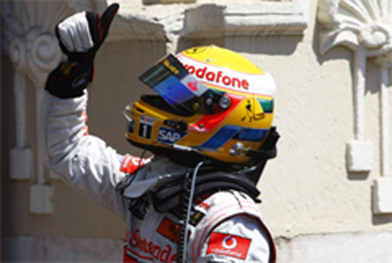 ルイス・ハミルトン 今季初ポール F1ヨーロッパGP
